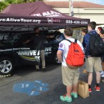 TKA Hosts UNITE's Arrive Alive Tour 2015 Featuring Virtual Reality Drunk Driving and Texting Simulator