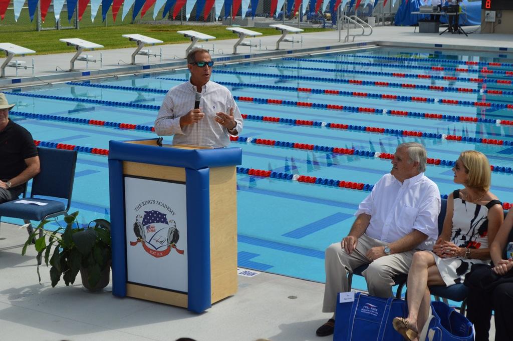 Aquatic Center opening