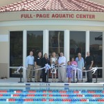 Aquatic Center Ribbon Cutting