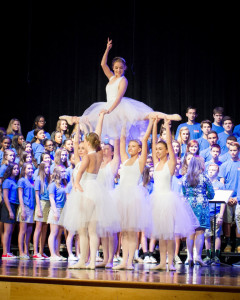 Fine Arts Students Perform During Ceremony