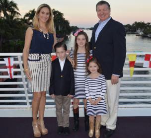 TKA parent hosts Joe & Ashley Maguire with children Bryson, Katherine, & Madison