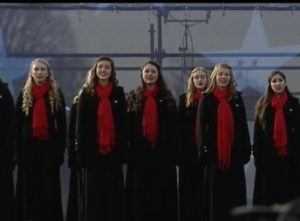 TKA Choir perform at presidential inauguration