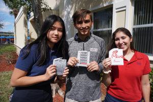 TKA students celebrating Pi Day