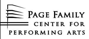 Page Family Center for the Performing Arts logo