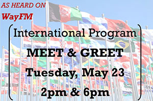 TKA's International Program is hosting Information Sessions in the Library on May 23rd