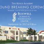 Ground Breaking Ceremony for TKA's New Boswell Science & Technology Center