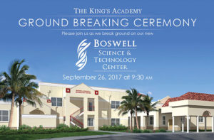The King's Academy Ground Breaking Ceremony