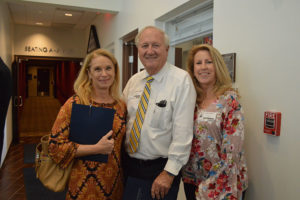 Collene Walter from Urban Design Kilday Studios, Herb Kahlert form Karl Corporation and Ms. Linda Powell